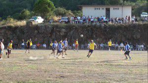 "Football game ""The Old Boys versus The Younger Generation"""