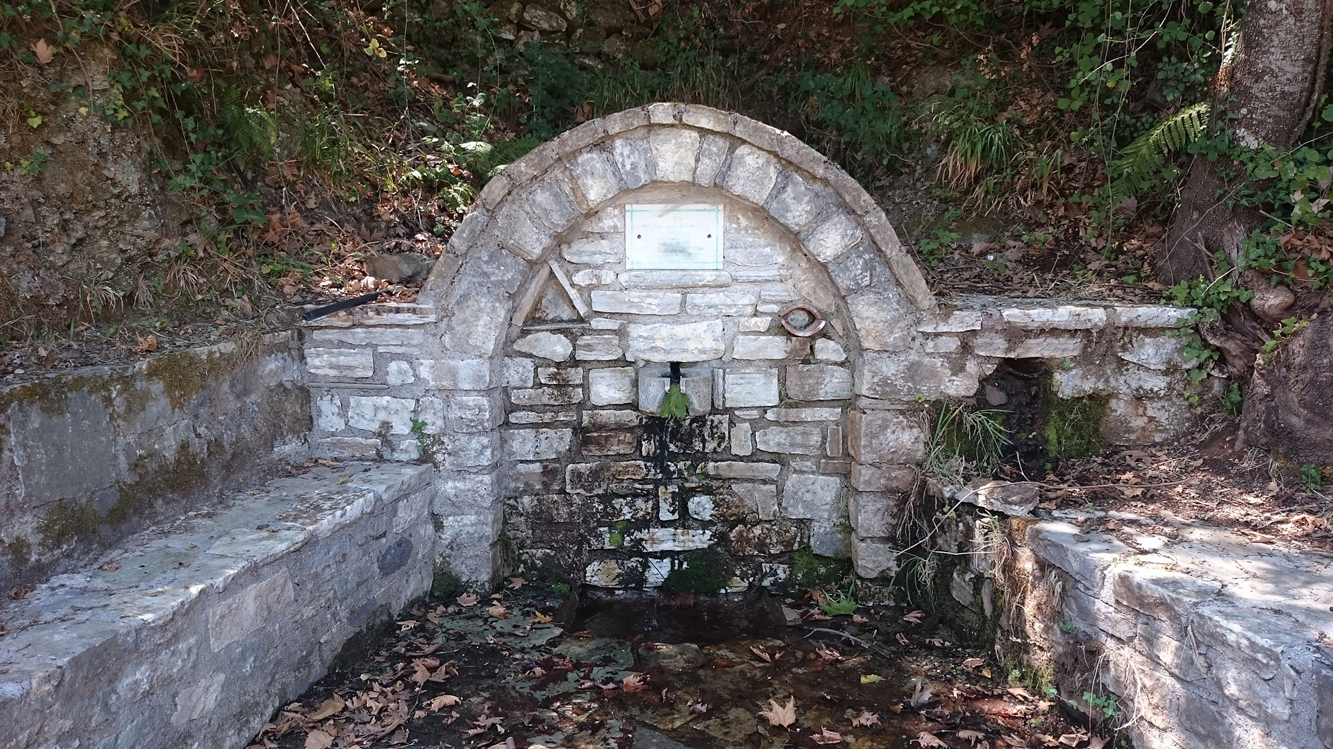 Prophitis Elias Fountain